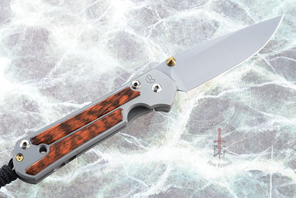 Small Sebenza 21 with Snakewood, Left Handed