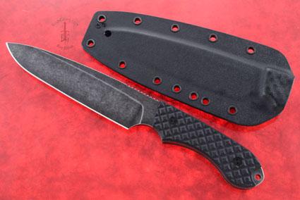 Guardian 6 - Black G10, Nimbus Blade, Sabre Grind