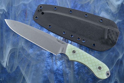 Guardian 6 - Ghost G10, Stonewash Blade, Sabre Grind