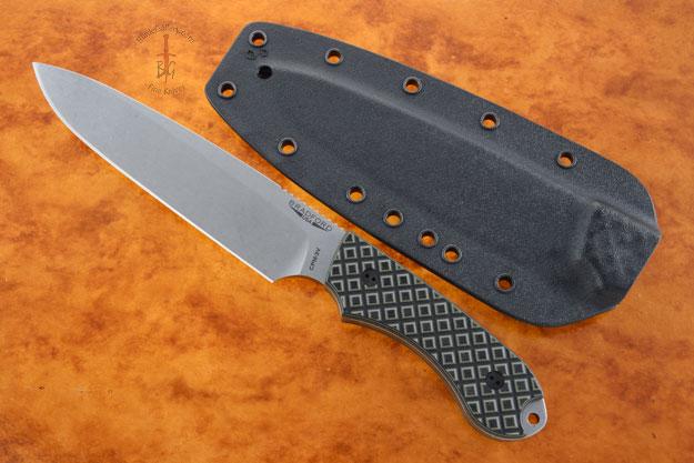Guardian 6 - Camo G10, Stonewash Blade, Sabre Grind