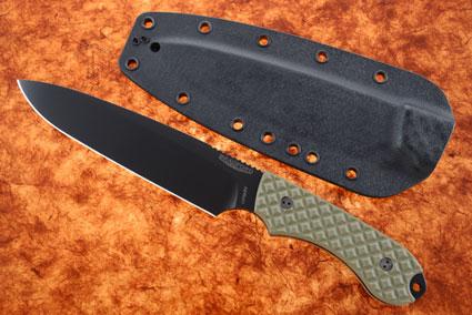 Guardian 6 - OD Green G10, DLC Blade, Sabre Grind