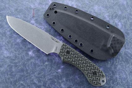 Guardian 5 - Camo G10, Stonewash Blade, Sabre Grind
