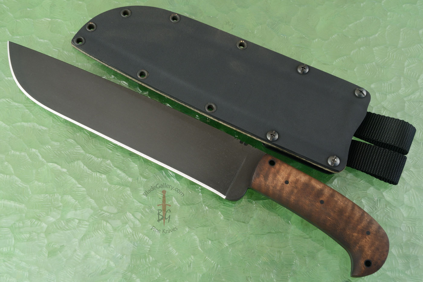Camp Knife with Maple