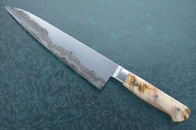 Chef's Knife (Gyuto) - San Mai with Sheep Horn (8-1/2