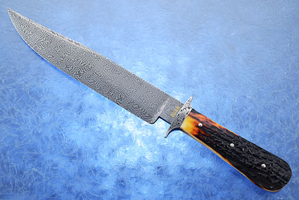 Mosaic Bowie with Amber Stag