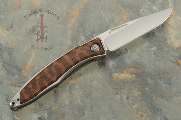 Mnandi with Snakewood - Left Handed