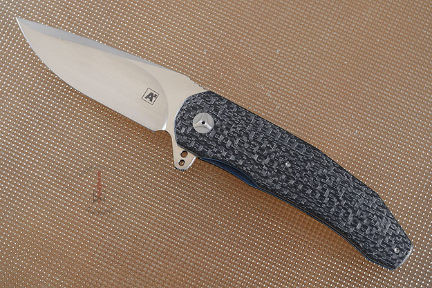 A3 Flipper with 3D Silver Strike Carbon Fiber (IKBS)