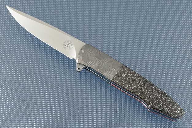 L19 Flipper with Silver Strike Carbon Fiber and Zirconium