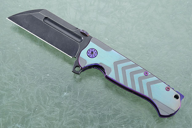 Butcher with Differential Anodized Finish