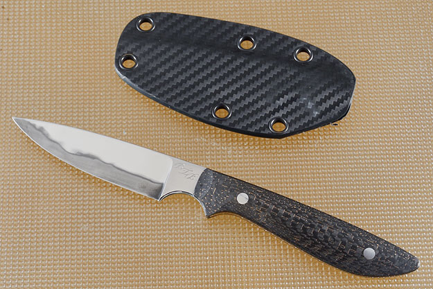 Forged Tactical EDC Utility with Lightning Strike Carbon Fiber