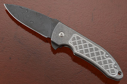 Guardian 3 Flipper (G3F-DAM) with Raindrop Damascus