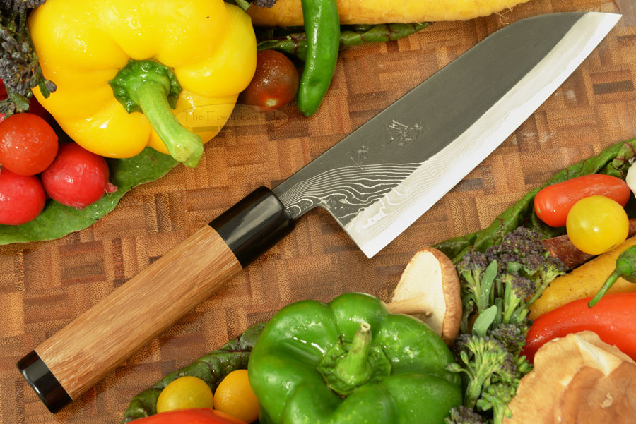 Half Twist Suminagashi Chef's Knife - Santoku - 6-1/2 in. (165mm)