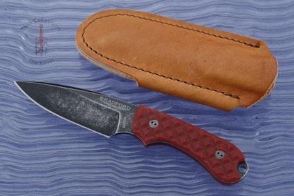 Guardian 3 - Red G10, Nimbus Blade, False Edge Grind