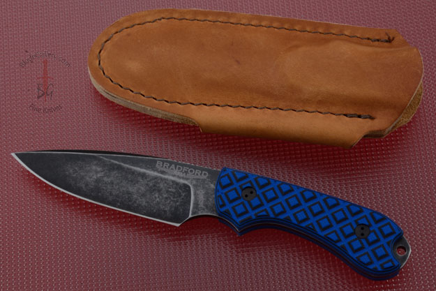 Guardian 3 - Black/Blue G10, Nimbus Blade, False Edge Grind