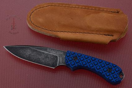 Guardian 3 - Black/Blue G10, Nimbus Blade, False Edge Grind
