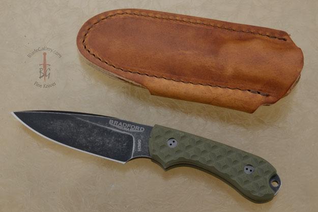 Guardian 3 - OD Green G10, Nimbus Blade, False Edge Grind