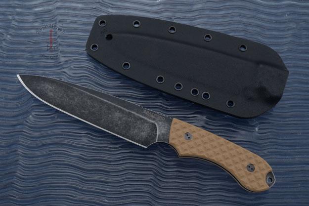 Guardian 6 - Coyote Brown G10, Nimbus Blade