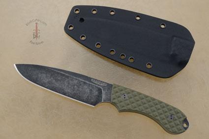 Guardian 5 - OD Green G10, Nimbus Blade, Sabre Grind