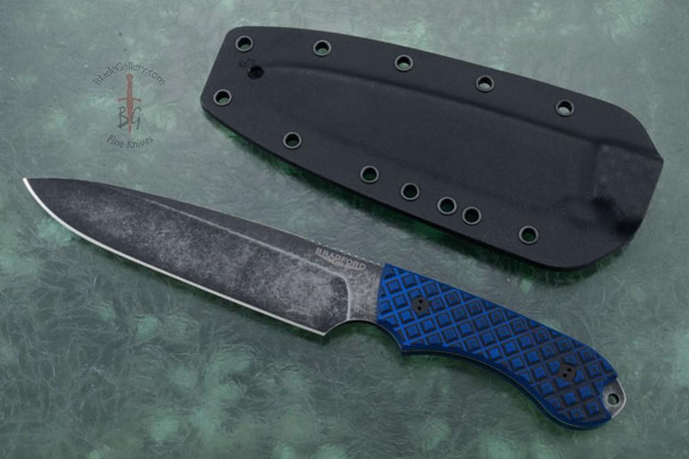 Guardian 6 - Black/Blue G10, Nimbus Blade, Sabre Grind