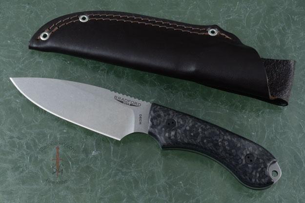 Guardian 4 - 3D Carbon Fiber, Stonewash Blade, Sabre Grind