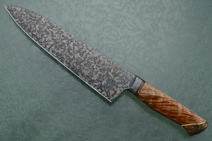 Chef's Knife with Sun Ray Maple (9-1/4 in)