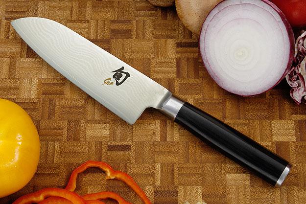 Shun Classic Santoku Knife - 5 1/2 in. - Left Handed (DM0727L)