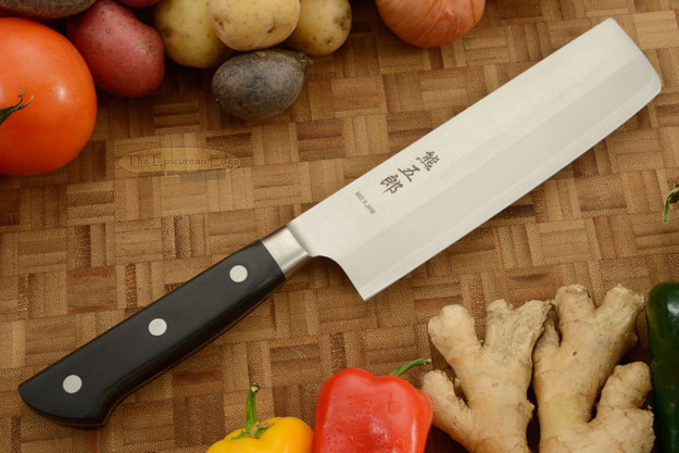 Carbon Steel Chef's Knife - Nakiri - 160mm - 6-1/4 in.
