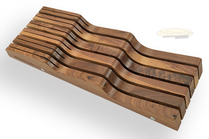 In-Drawer Storage Tray, Walnut, 11 Slots (DKH-11/W)
