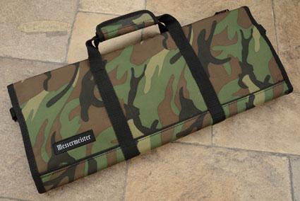 12 Pocket Knife Roll, Camouflage (2088-12/C)
