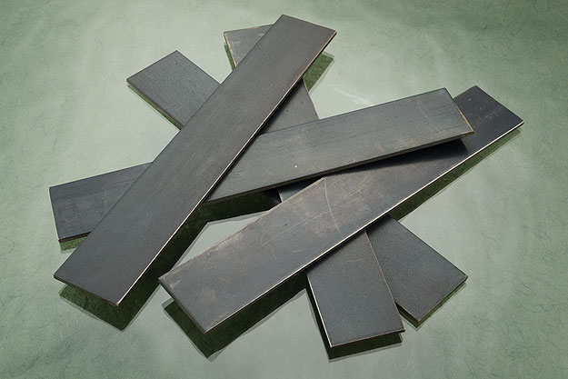 SG2 Stainless/Nickel Damascus DPS San Mai - 31 layer (.24
