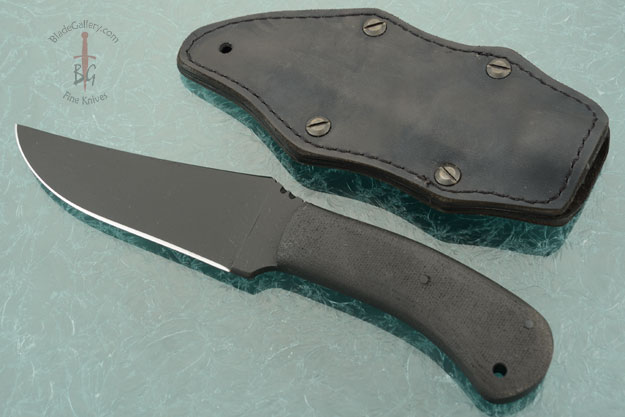 Belt Knife with Micarta and KG Finish