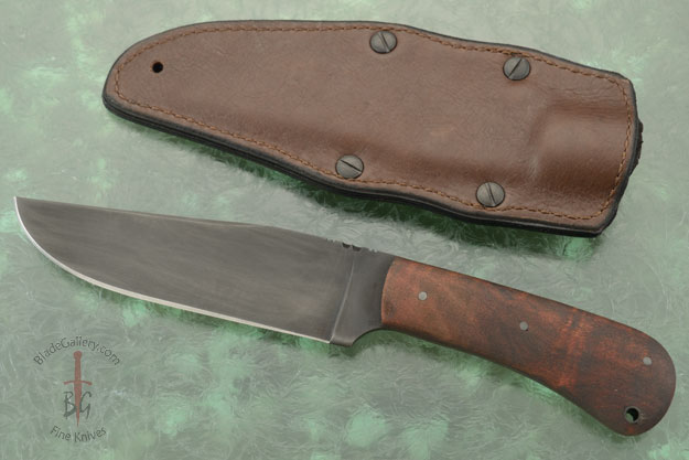 Field Knife with Maple and Caswell Finish