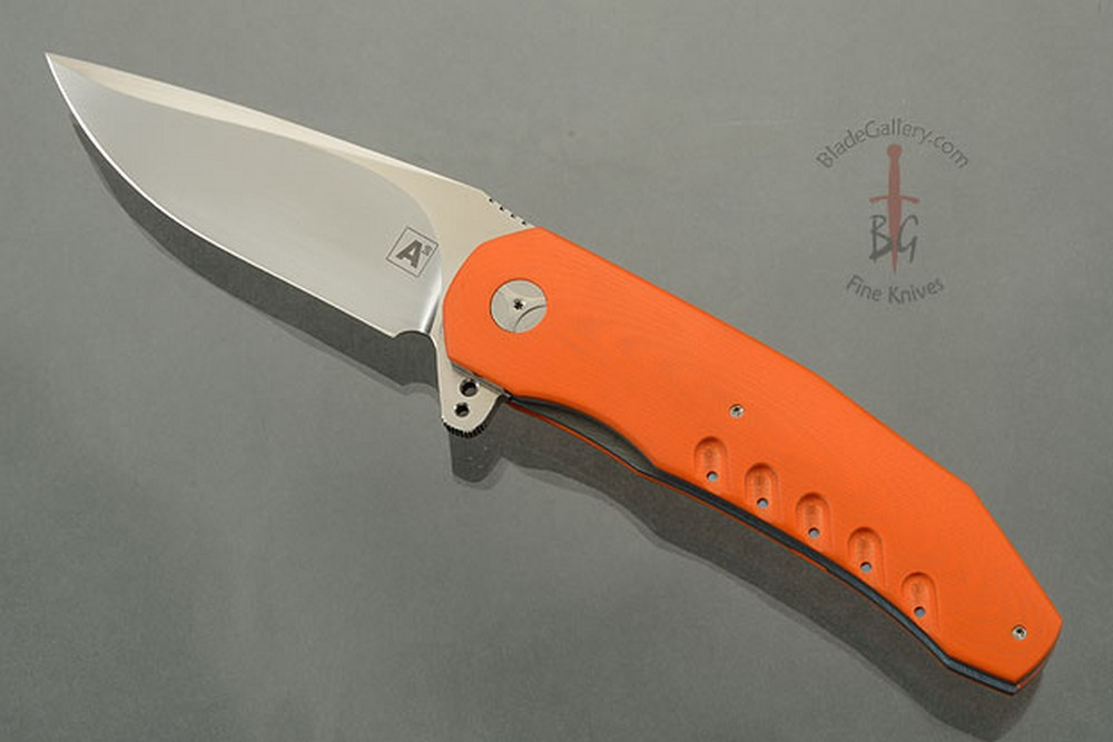 A3 Flipper with Orange G10 (Double Row IKBS)
