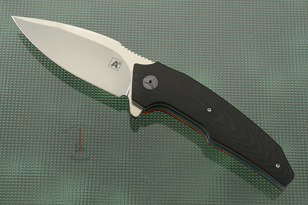 A6 Flipper with Black and Orange G10 (Collaboration with Tashi Bharucha) - IKBS