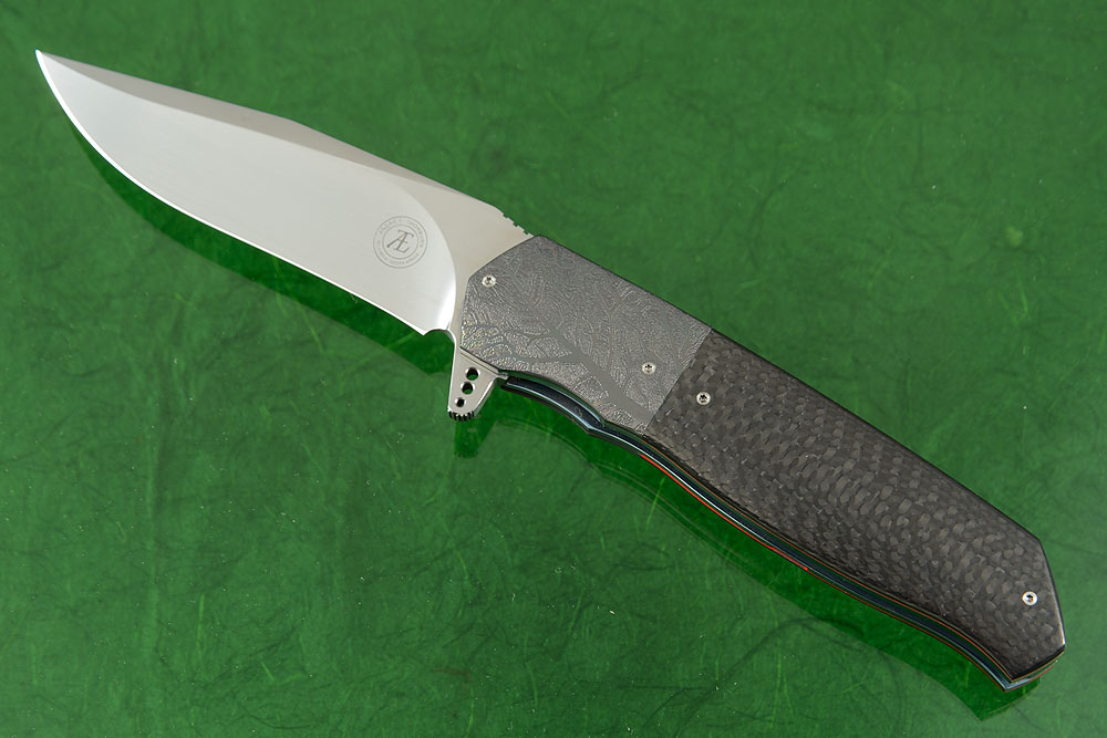 L36M Flipper with Carbon Fiber and Zirconium (Ceramic IKBS)