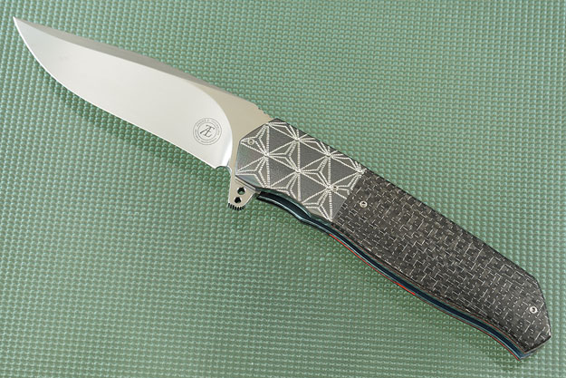 L36M Flipper with Silver Strike Carbon Fiber and Zirconium (IKBS)