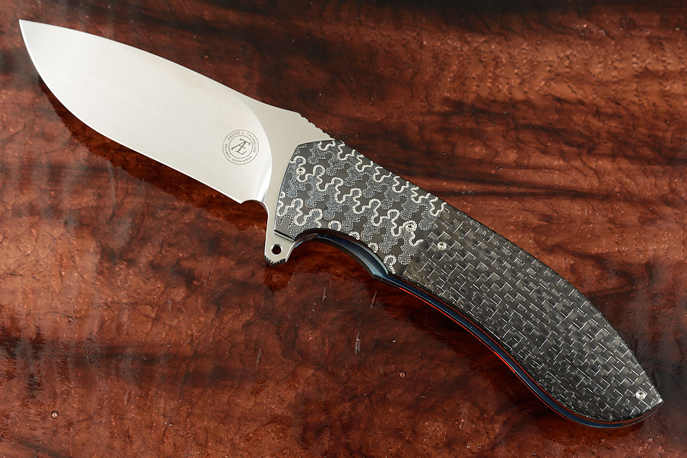 L50 Flipper with Silver Strike Carbon Fiber and Zirconium (Ceramic IKBS)