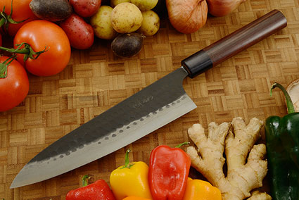 Asai Tojinbo Damascus Chef's Knife - Gyuto - 8-1/4 in. (210mm)
