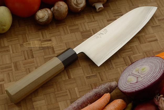 Migaki Chef's Knife - Santoku, 165mm (6-1/2 in.)