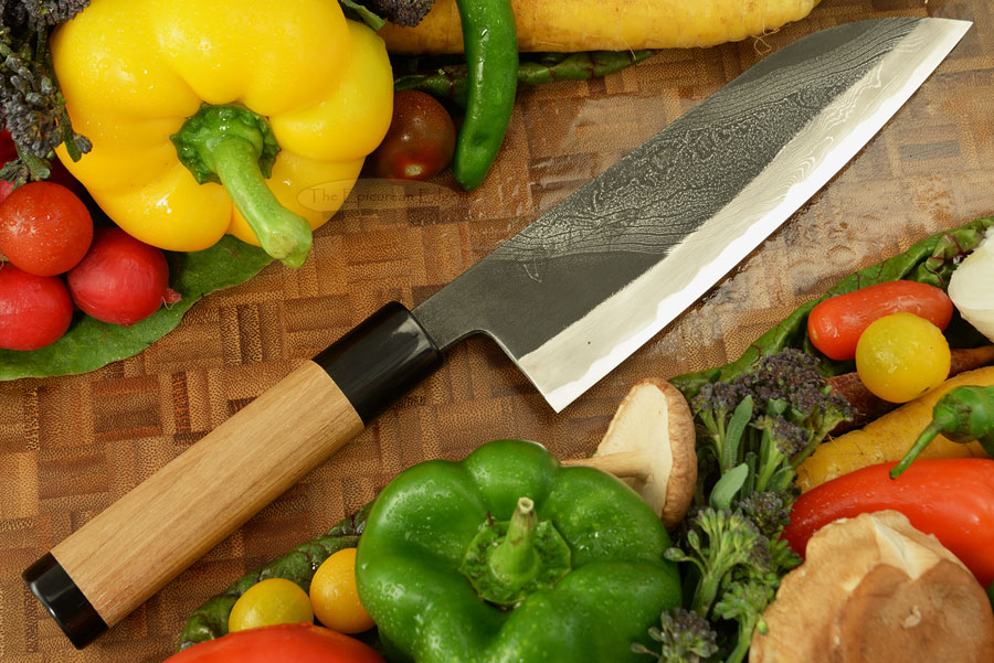 Half Twist Suminagashi Chef's Knife - Santoku - 7-1/8 in. (180mm)