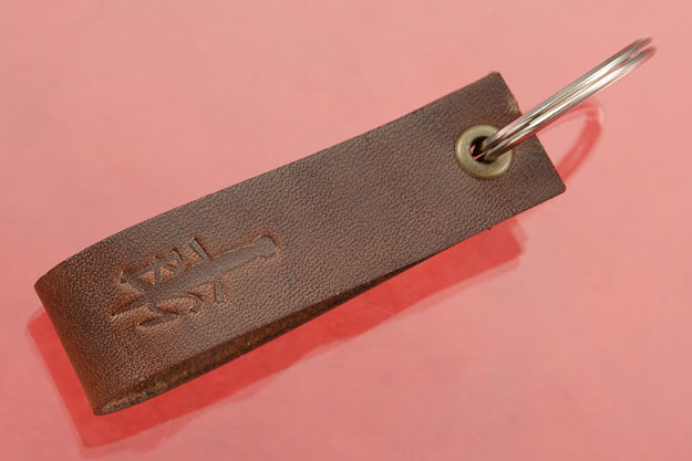 Key Fob - BladeGallery - Brown Leather
