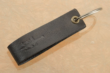 Key Fob - BladeGallery - Black Leather