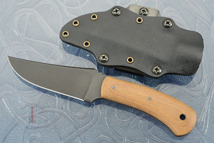 Blue Ridge Hunter (Gen 2) with Tan Micarta and Caswell Finish