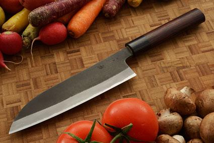 Chef's Knife (Santoku) - (180mm) - Aogami Super