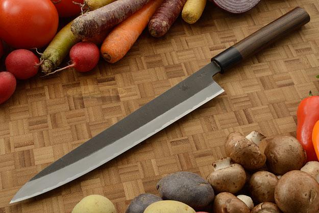 Slicer (Sujihiki) - 9-1/2 in. (240mm) - Aogami Super