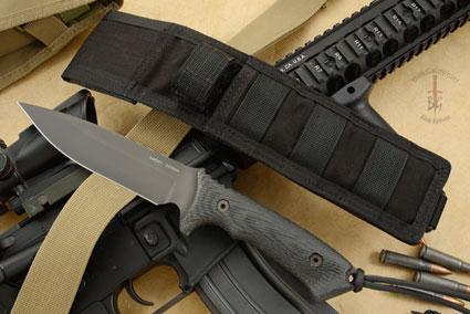 Harsey Difensa with Black Handle/Black Blade