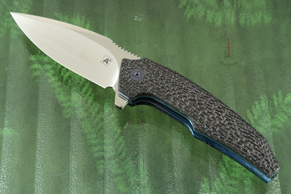 A6 Flipper with Silver Strike Carbon Fiber (Collaboration with Tashi Bharucha) - IKBS