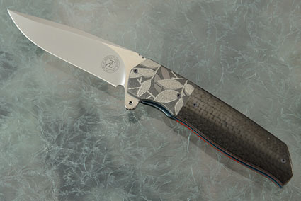 L36S Flipper with Carbon Fiber and Zirconium (IKBS)