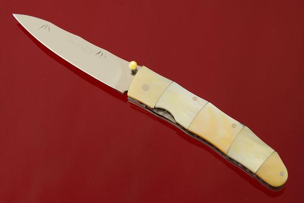 Gold Lip Bamboo Folder