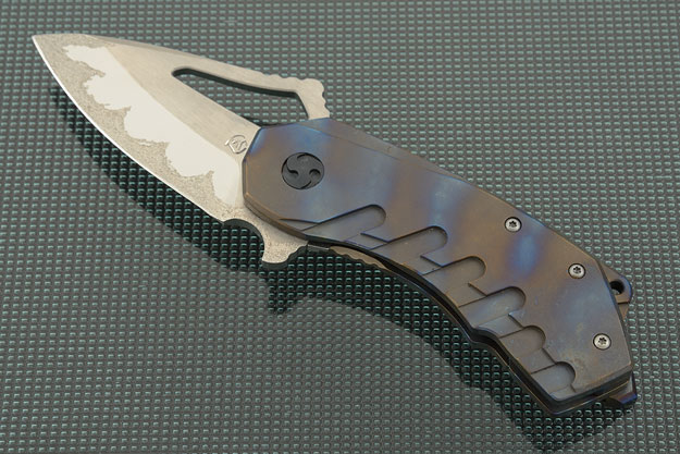 Kiba 2 with Flame Anodized Titanium